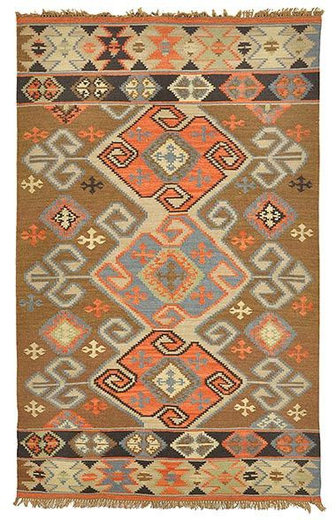 Outdoor Poly Kilim Pima Area Rug Design By Clic Home