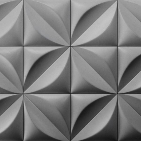 Beautiful Chrysalis Cast Architectural Concrete Tile   Natural     Cast Concrete  Tiles   Inhabitliving.com