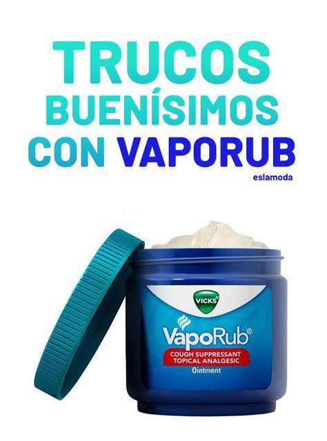 El Vicks Vaporub no sólo es para el resfriado.10 n