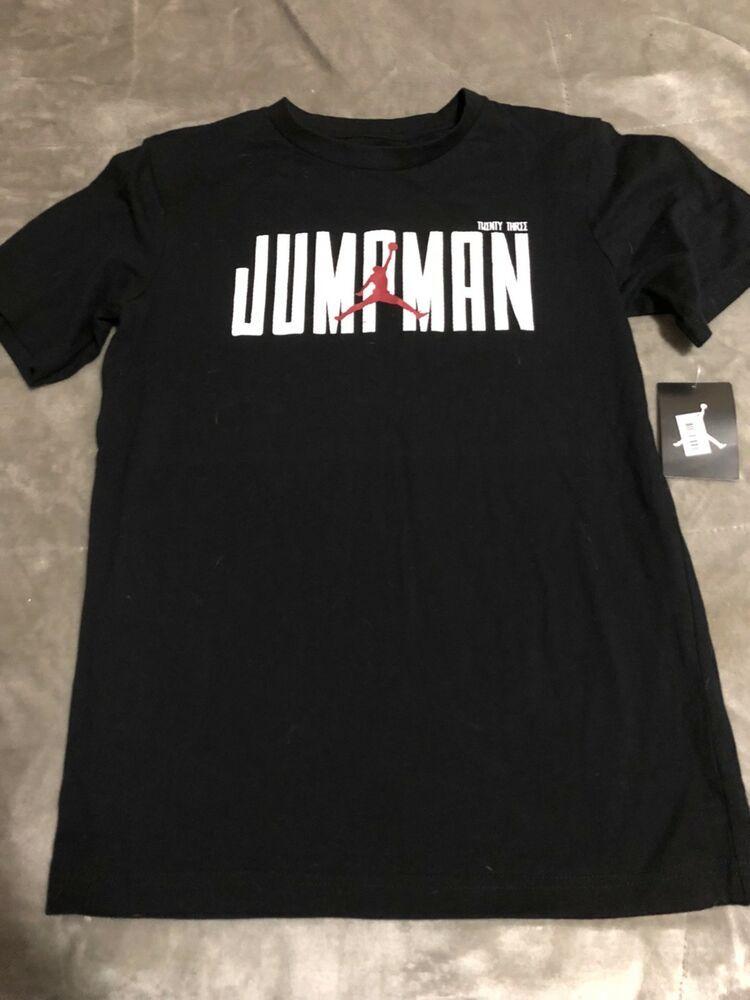 f7b8675af046 NWT boys Jordan Jumpman T-shirt size 12 13  fashion  clothing  shoes   accessories  kidsclothingshoesaccs  boysclothingsizes4up (ebay link)