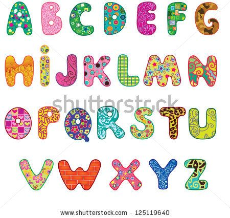 Alphabet Letter Patterns