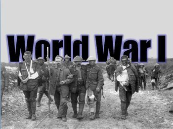 world war 1 powerpoint presentation lesson plan | social studies, Powerpoint templates