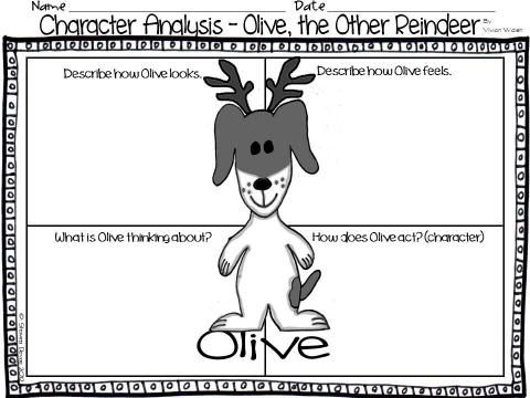 Olive The Other Reindeer Google Search Olive The Other