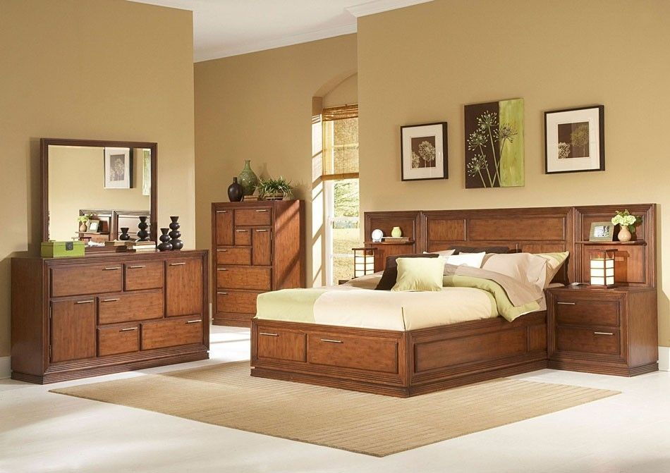 Pin Di Modern Wood Bedroom Sets