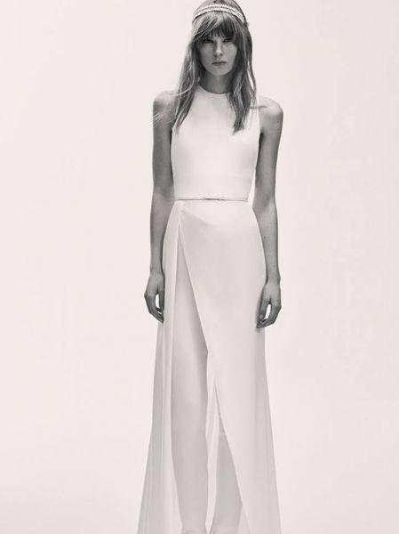 2c5974cda Vestidos de novia para mujeres altas 2017  35 diseños para brillar y  cautivar Image  13