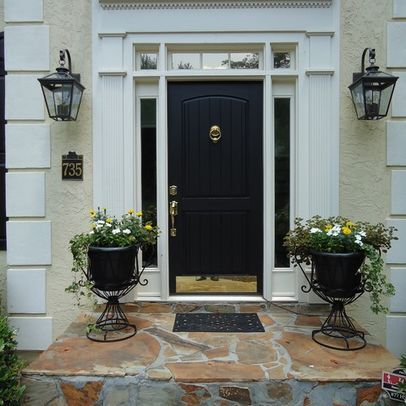Front Door Sidelights Transom Design Ideas Pictures
