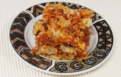 Debbi Does Dinner... Healthy & Low Calorie: Deconstructed Stuffed Cabbage Casserole