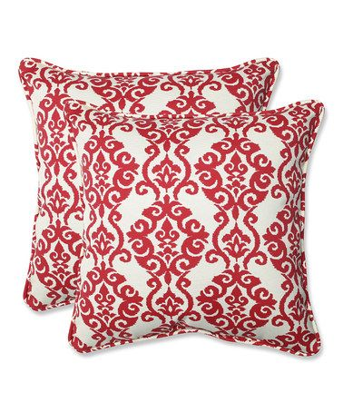 Loving this Luminary Throw Pillow - Set of Two on #zulily! #zulilyfinds