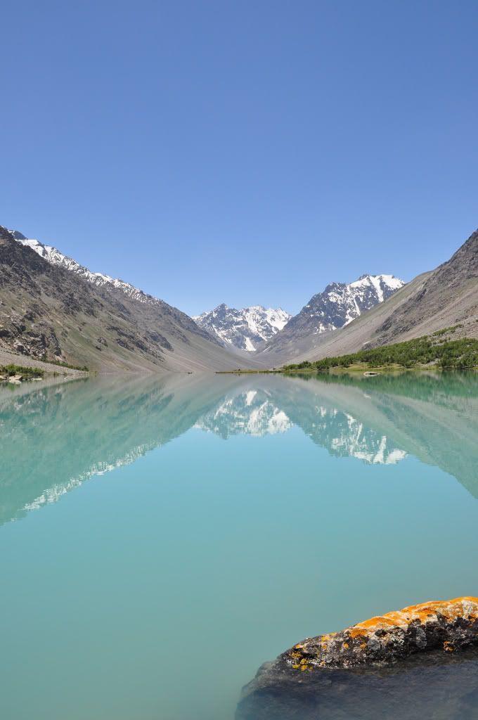 Baha Lake near Shandoor Pass - Gilgit, Pakistan