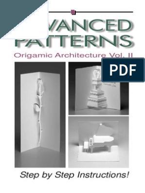 Pop Up Patterns 2 Pdf Pop Up Album Geometric Origami