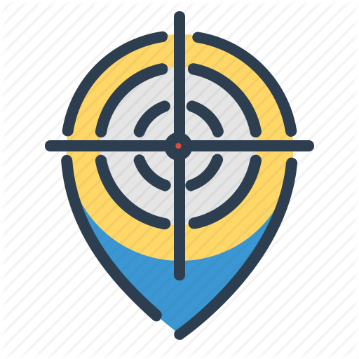 Aim Location Map Pin Target Icon Download On Iconfinder Map Location Icon Icon