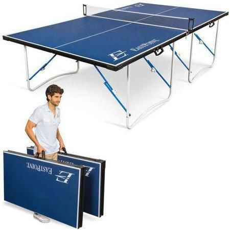 Eastpoint Fold N Store Table Tennis Table 12mm Walmart Com Ping Pong Table Table Tennis Folding Ping Pong Table