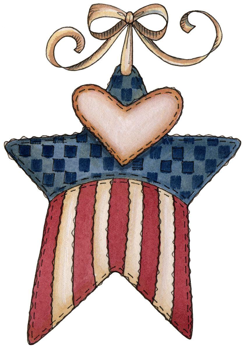 Album Archive Americana Crafts Clip Art Star Clipart