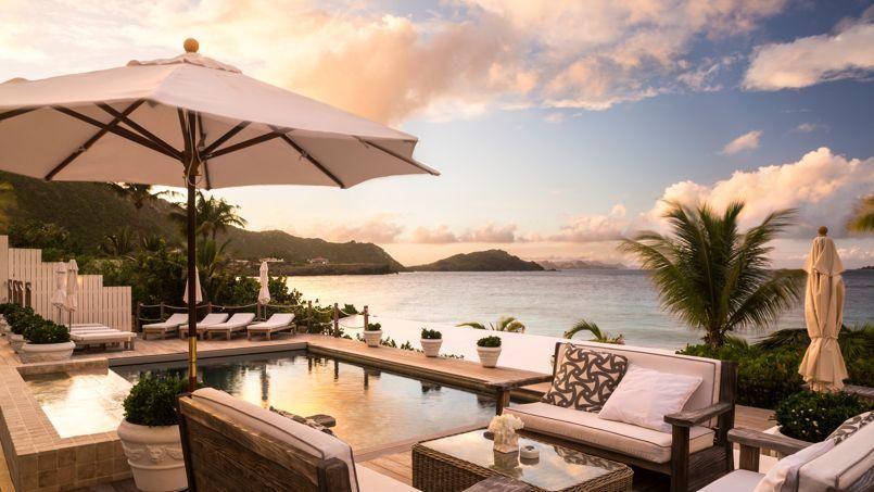 Saint-Barth le nouvel art du luxe | Architecture tropicale ...