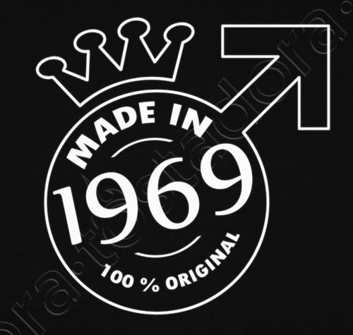 Camiseta Made In 1969 Feliz 50 Cumpleaños Frases