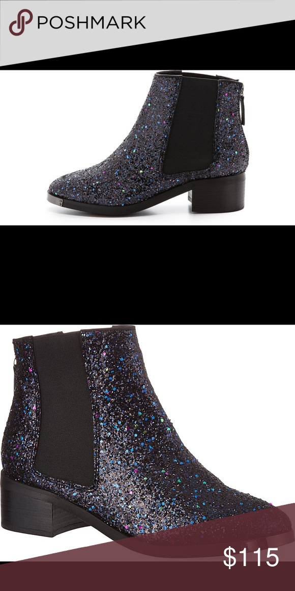 Kurt Geiger ankle boots Navy, glitter, ankle boots Kurt Geiger Shoes Ankle Boots & Booties