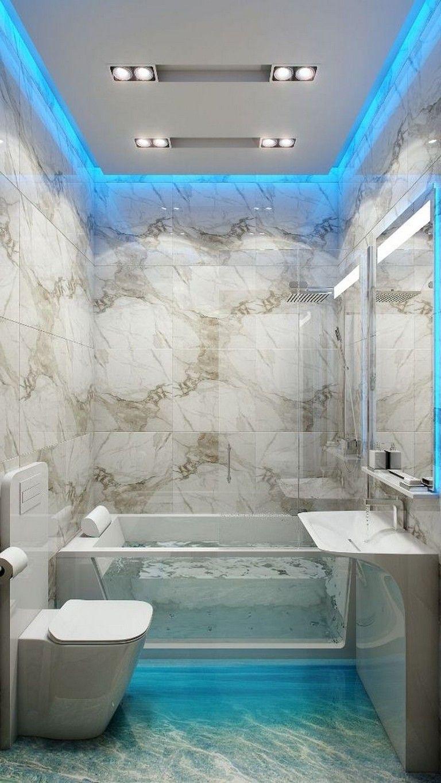 63 Awesome Modern Led Strip Ceiling Light Design Gorgeous Bathroom Designs Bathroom Design Luxury Bathroom Lighting Design