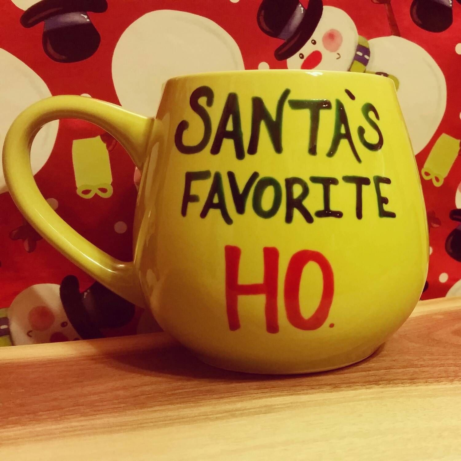Mug/Cup/Santa's favorite Ho/Funny mug/Secret by LOVEinamug