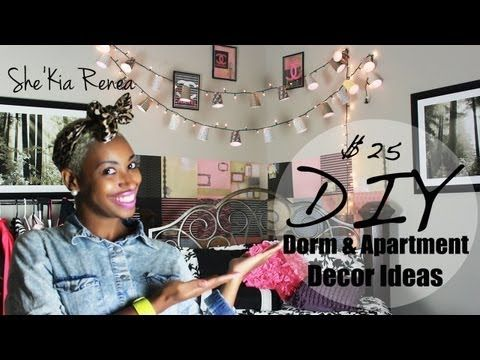 DIY | College Dorm Decor Ideas
