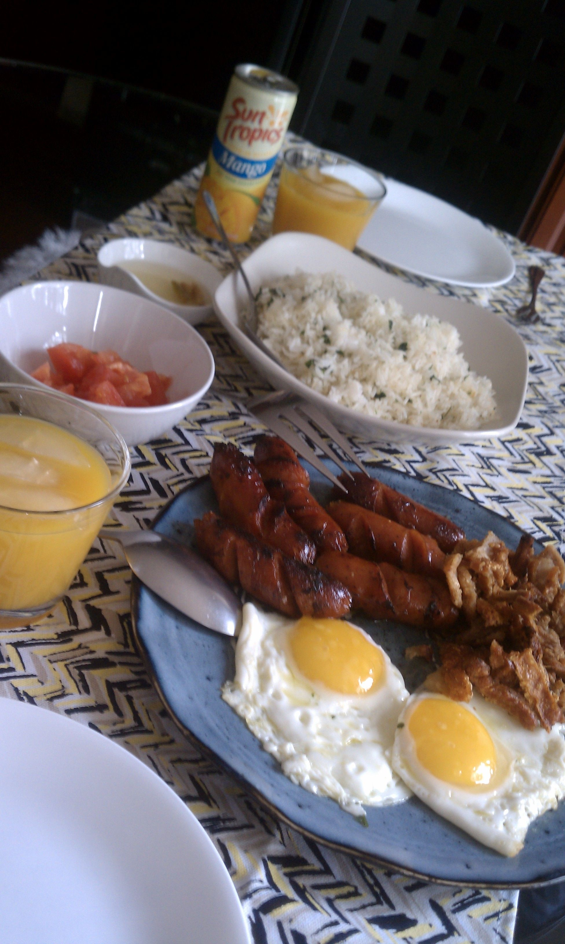 Classic Filipino Breakfast