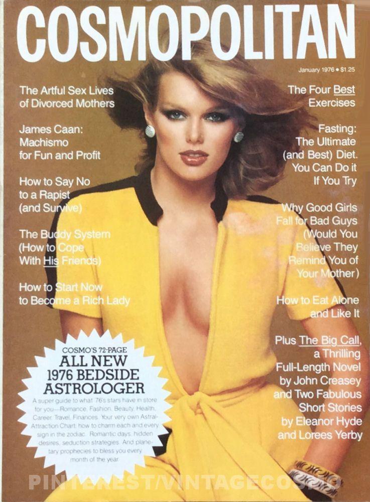 Cosmopolitan, JANUARY 1976 Model: Patty Hansen ...