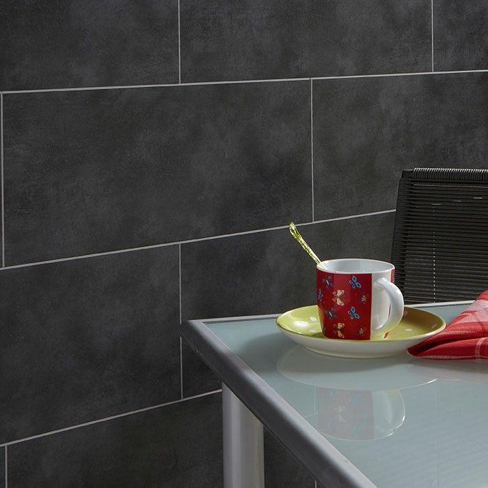 Dark Concrete Tile Bathroom Google Search Concrete Tiles Bathroom Concrete Tiles Concrete