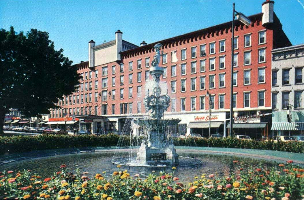 Old Hotel Woodruff, Avon Shoes    , Public Square, Watertown