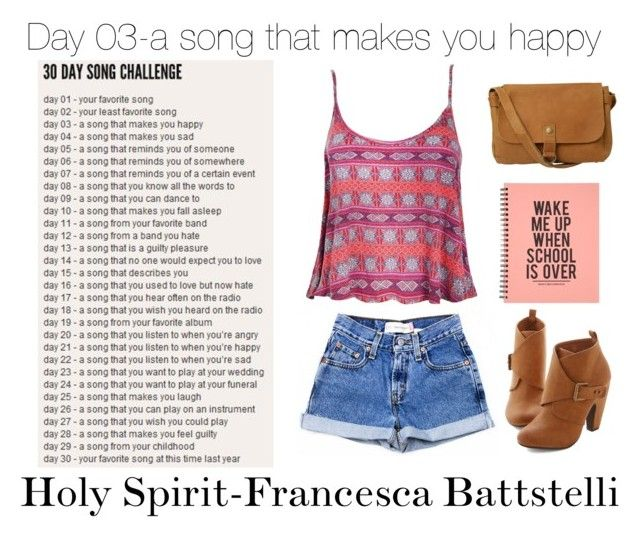 """""""Day 3 of the 30 day song challenge"""" by darkestangel13 ❤ liked on Polyvore featuring Ally Fashion and Fat Face"""