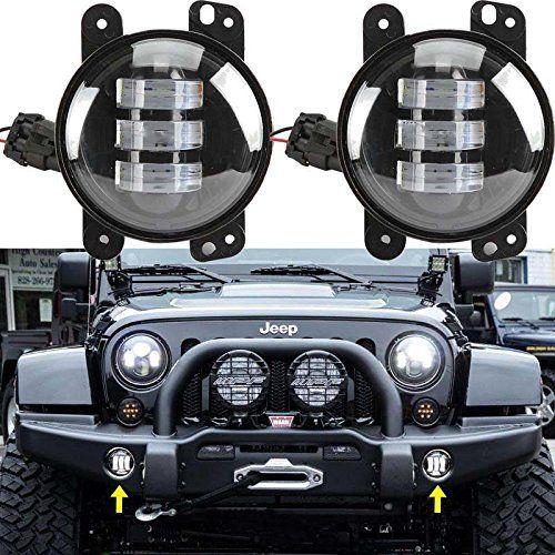 Jk Jeep Wrangler Parking And Fog Lights Mods Gear Jeep