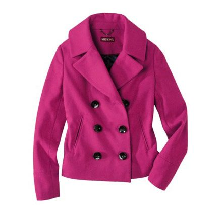 10 beautiful bright pea coats for fall and winter 2012.