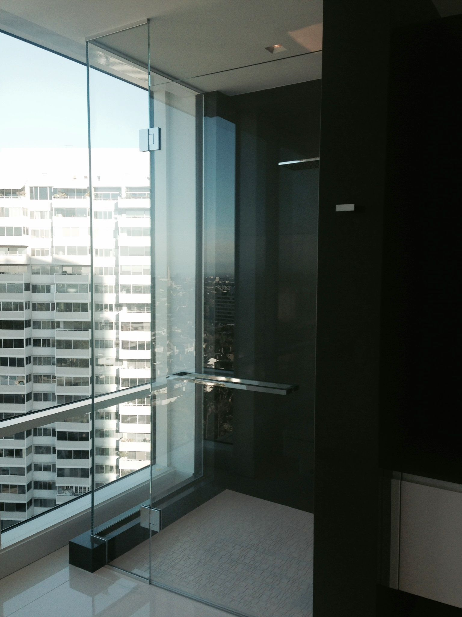Starphire Shower Glass with Polished Chrome Hardware. PRL is your ...