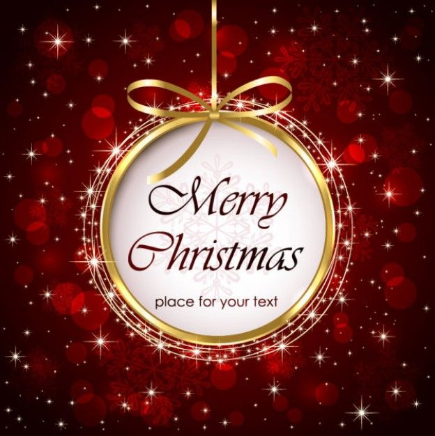 Christmas Greetings Background.Beautiful Christmas Greeting Card Background Vector Material
