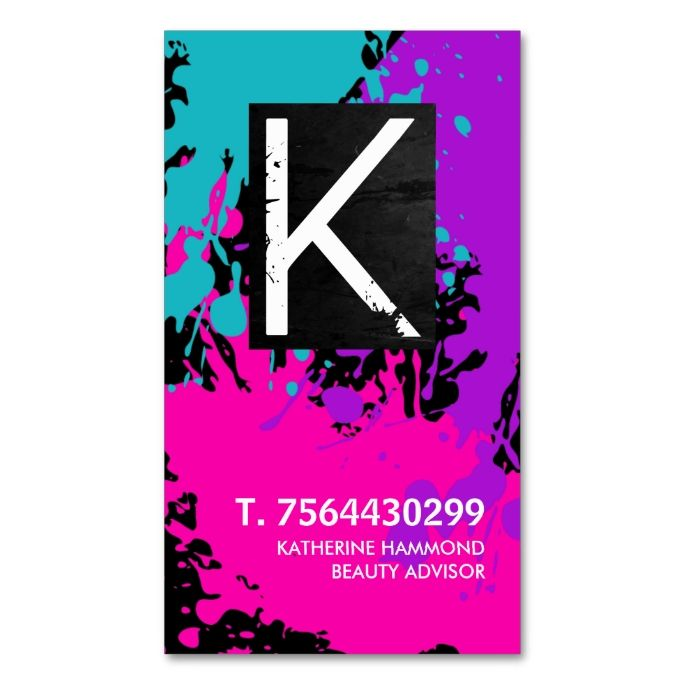 Monogram nail technician business card monogram nails nail business monogram nail technician business card make your own colourmoves