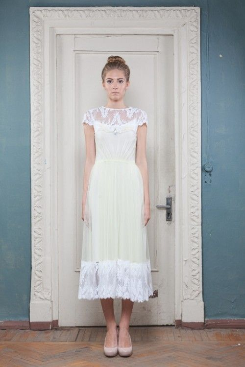 Atemberaubende Vintage Dennoch Moderne Hochzeit Kleider ...