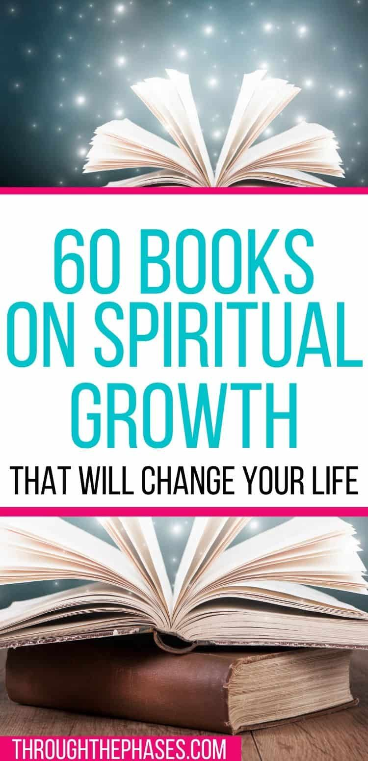 60 Life Changing Spiritual Books To Read In Your Lifetime Find Your Purpose And Have Your Spiritual Awa In 2020 Spirituality Books Spiritual Awakening Spiritual Movies