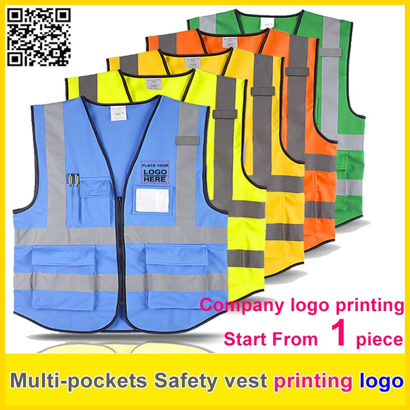 Workplace Safety Supplies Spardwear Free Company Logo Printing Mesh Vest Reflective Safety Clothing Safety Blue Work Vest Hi Vis Vest In Many Styles Security & Protection