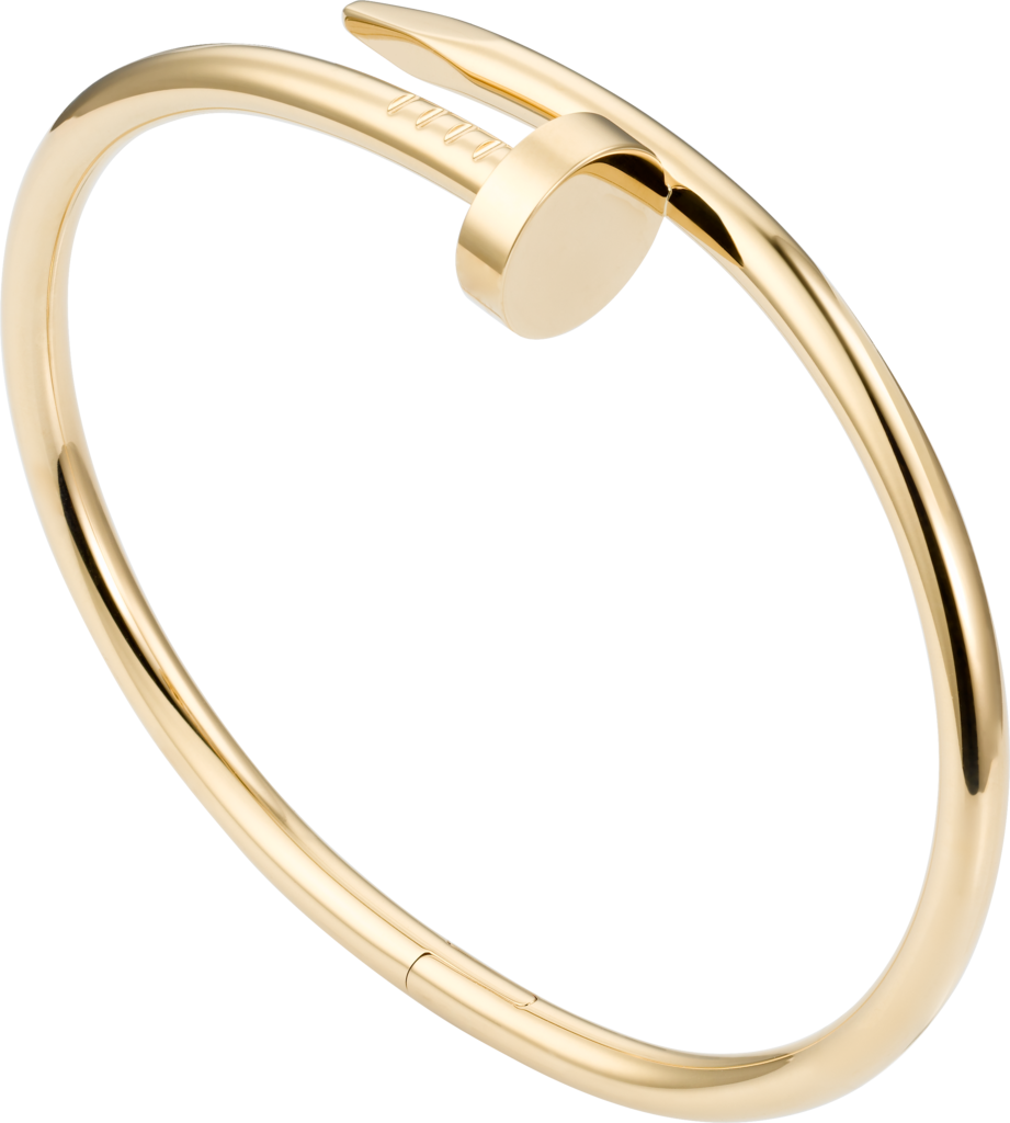 Cartier juste un clou k yellow gold k wrist pinterest