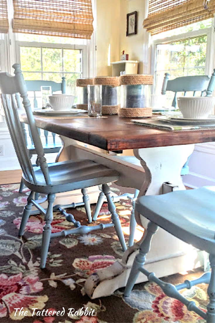 Diy Rustic Farmhouse Trestle Table Makeover Step By Step