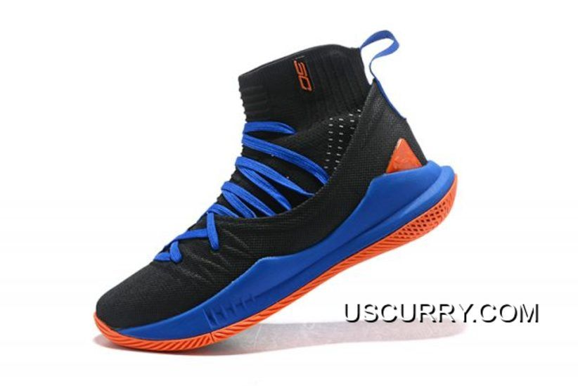 3130185dd6f Men s Under Armour Curry 5 Low Navy Blue Red-White Steph Curry ...