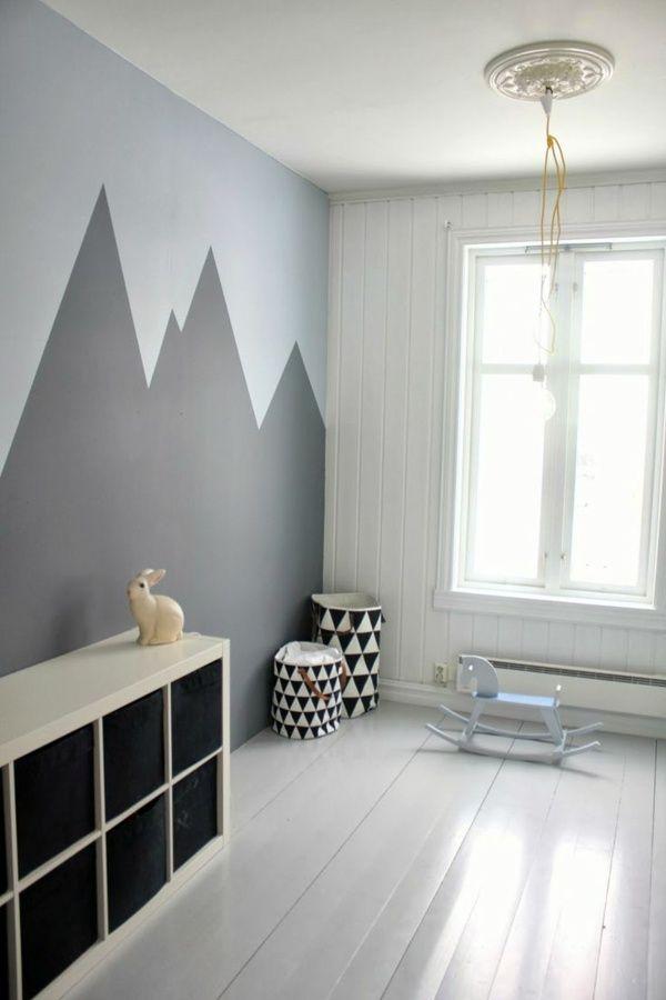 Ideas creativas para pintar las paredes de la casa House