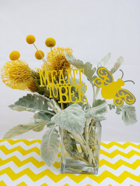 Bridal Shower Centerpiece Meant To Bee Theme