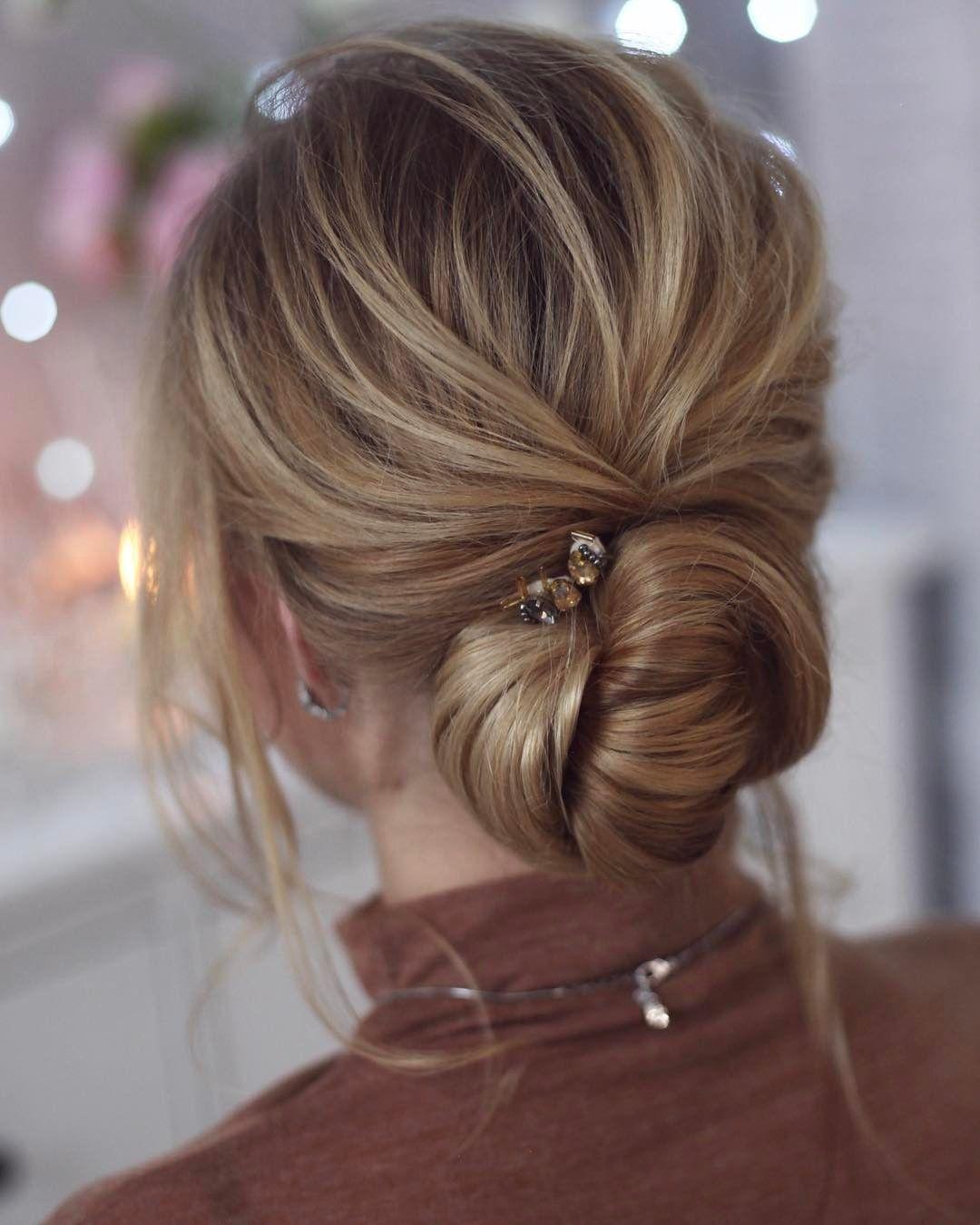 Pin by adylib cano on peinados pinterest bun hairstyle hair dos