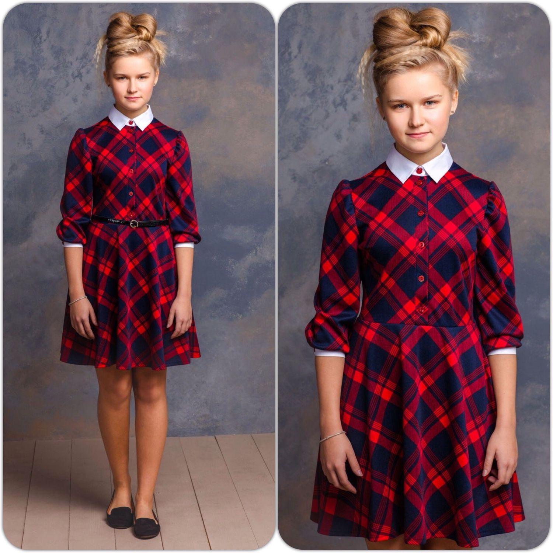 7914fbfaea9c397 Купить Теплое платье для девочки