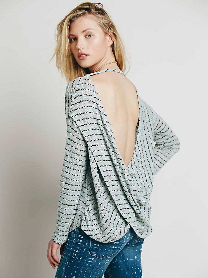 Free People We The Free Angel Island Hacci, $78.00. I tried this on and I want it so badddd