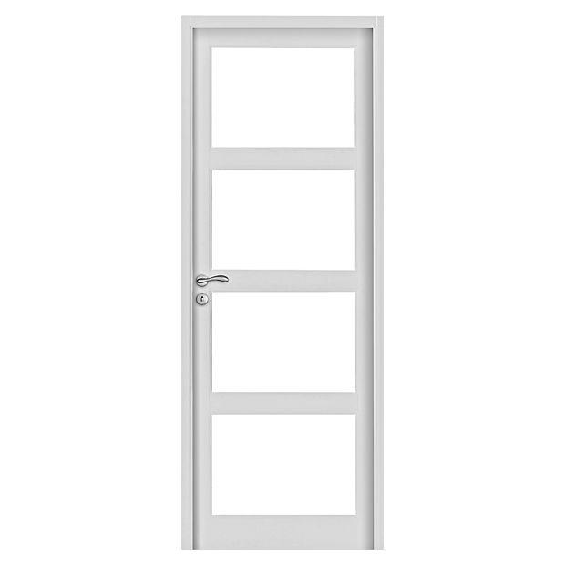 Les blocs portes isolants pour les portes int rieures for Porte prete a peindre