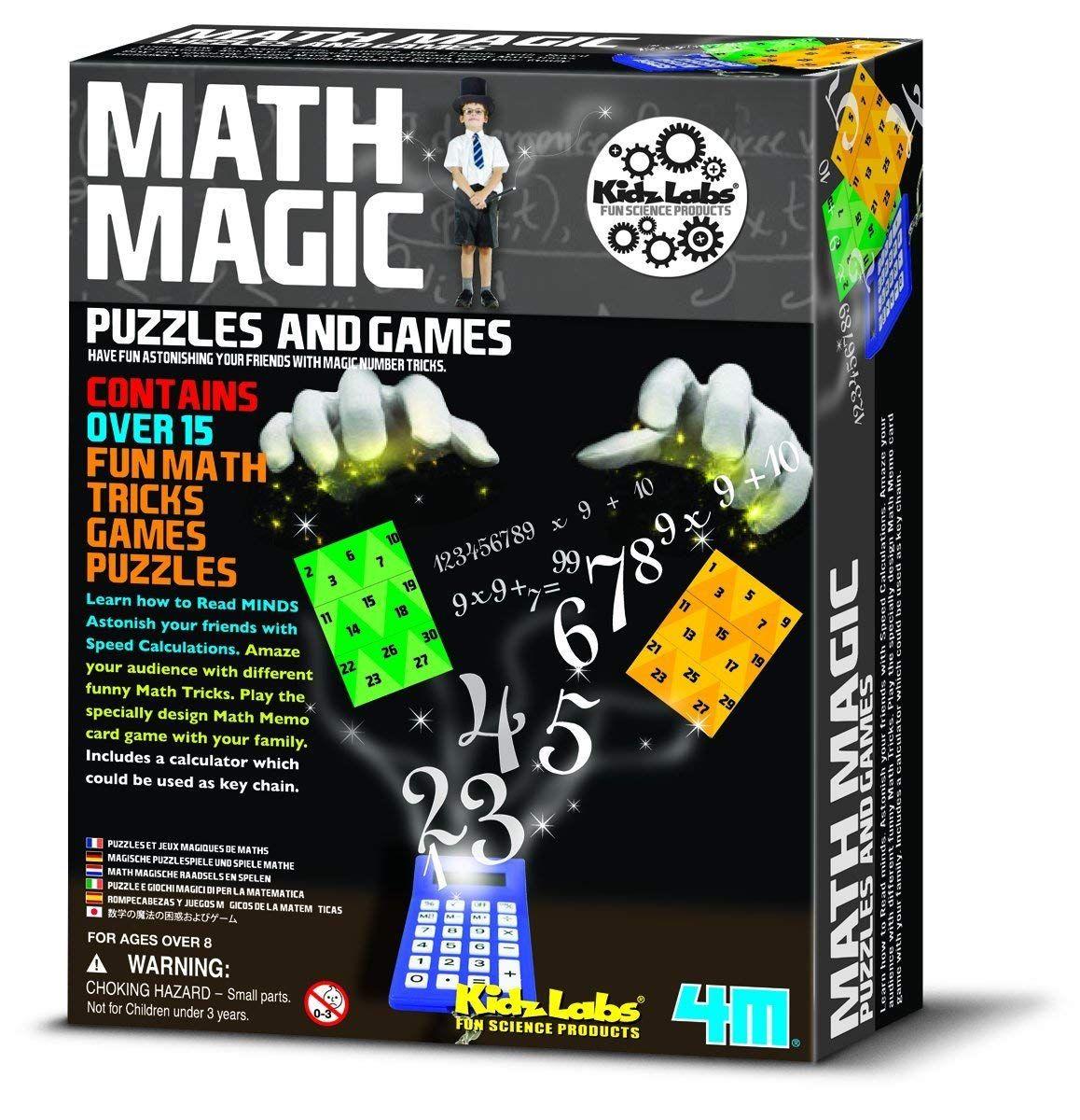 Best Science Toys For Kids Stem Skills Brain Growth Math Magic Fun Math Educational Games For Teens