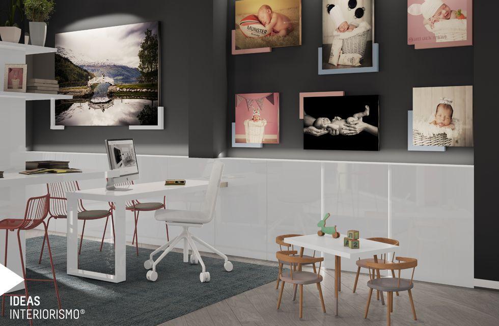 Proyecto de interiorismo para la tienda de fotograf a wom - Estudios de interiorismo valencia ...