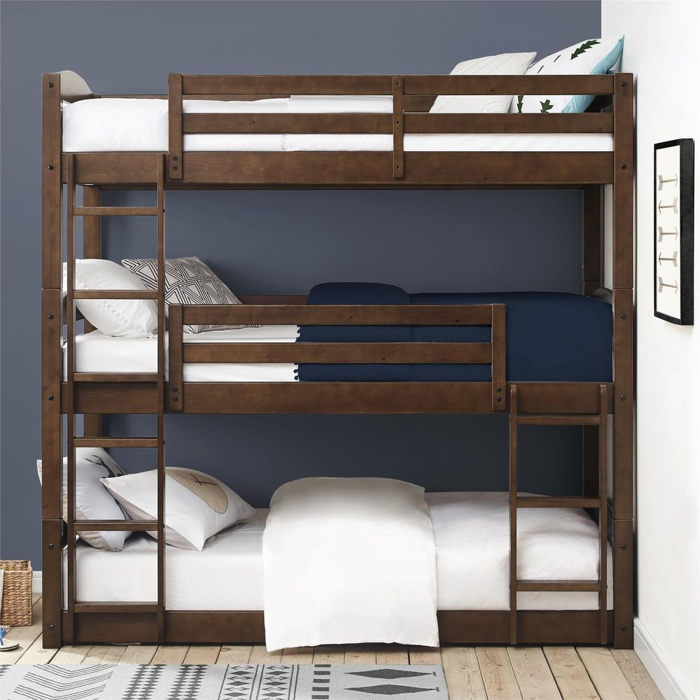 Triple Floor Bunk Bed Converts To A And Daybed