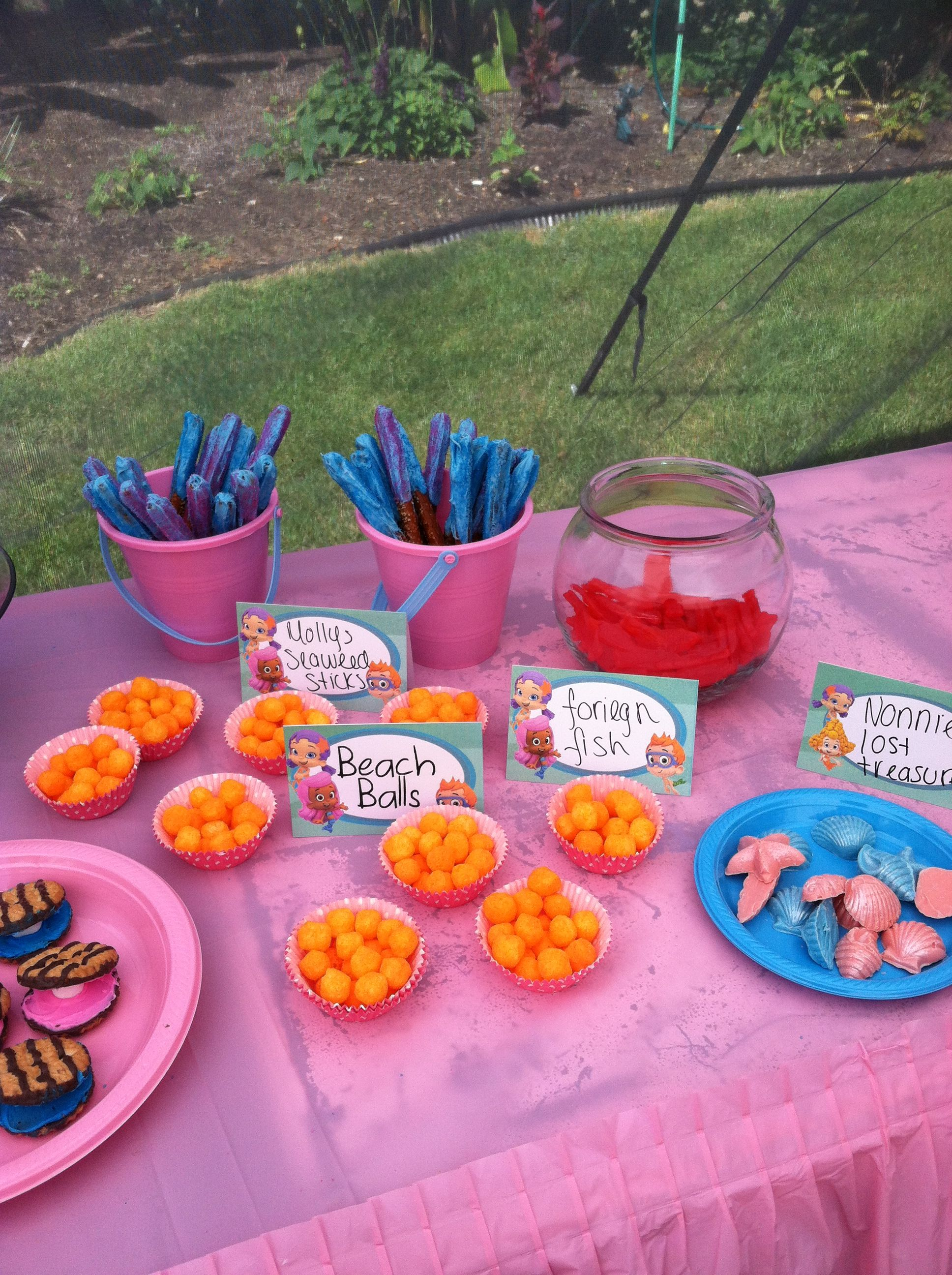 Pin On Gems Bubble Guppies Party
