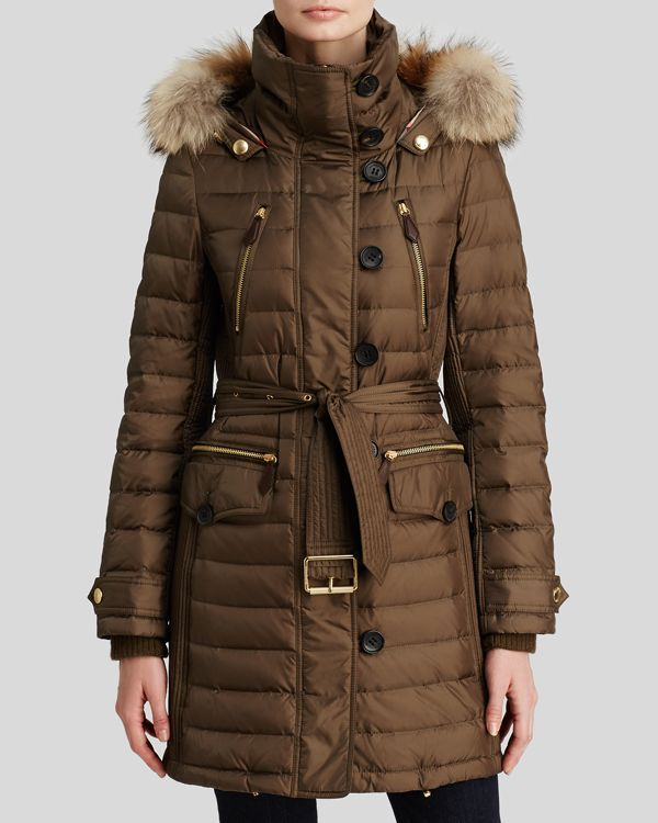 1b2330a8a Burberry Brit Pipleigh Down Puffer Coat with Fur Hood   Products ...